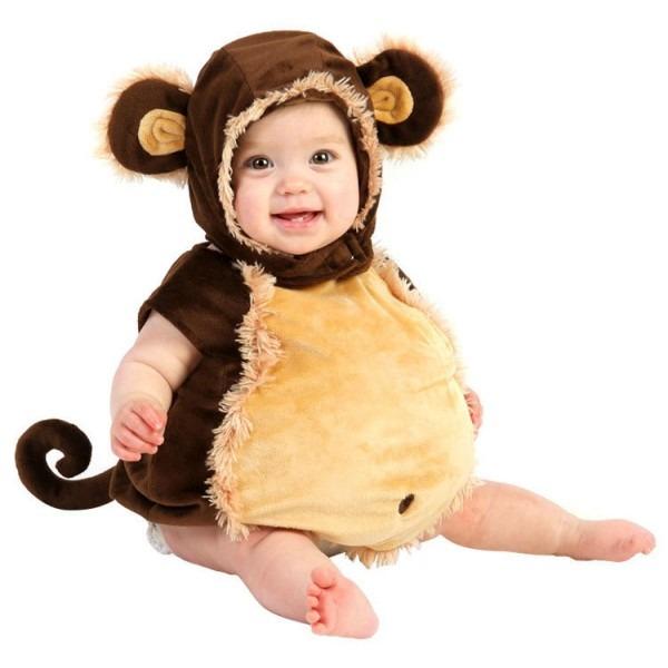 Infant Baby Monkey Halloween Costume Babies Photo Romper One Piece