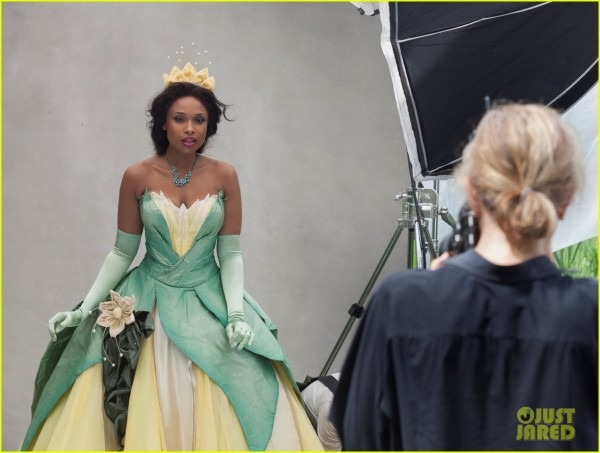 Jennifer Hudson  Princess Tiana Disney Dream Portrait!  Photo