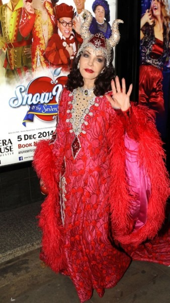 Priscilla Presley In Manchester For Snow White And The Seven