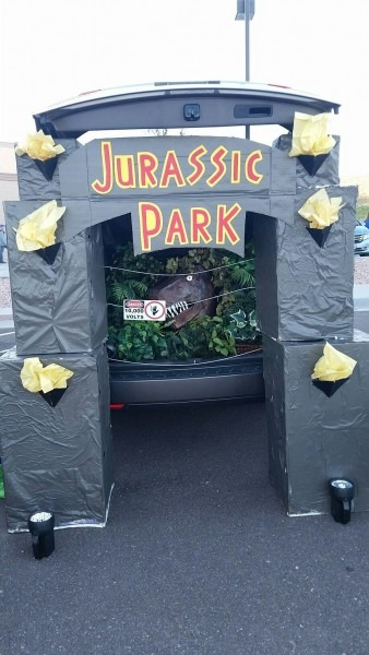 Jurassic Park Trunk Or Treat Halloween Best Party Supply Designs Of