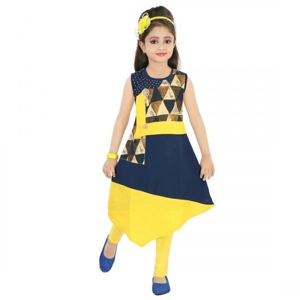 Justkids Fashionable Kurti And Leggings Set Buy Justkids Designs