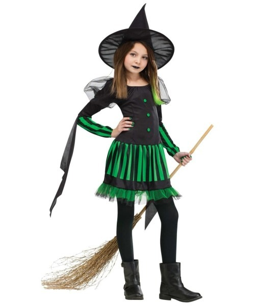 Wicked Witch Kids Halloween Costume