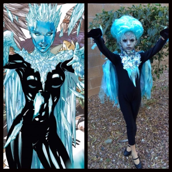 Killer Frost Cosplay Kid!