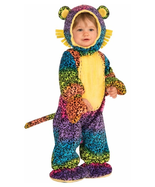 Groovy Leopard Baby Costume