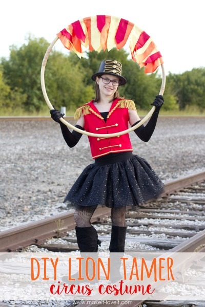 Make A Lion Tamer Circus Costume – Make It And Love It