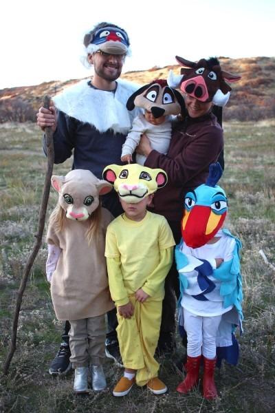 Lion King Halloween — Mother Make
