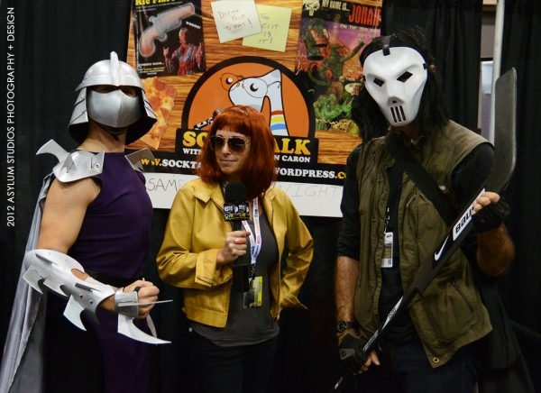 Shredder, April O'neil And Casey Jones