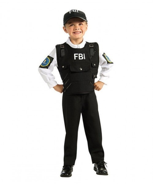 Lol Take A Look At This Black Fbi Agent Dress Up Set Kids Today