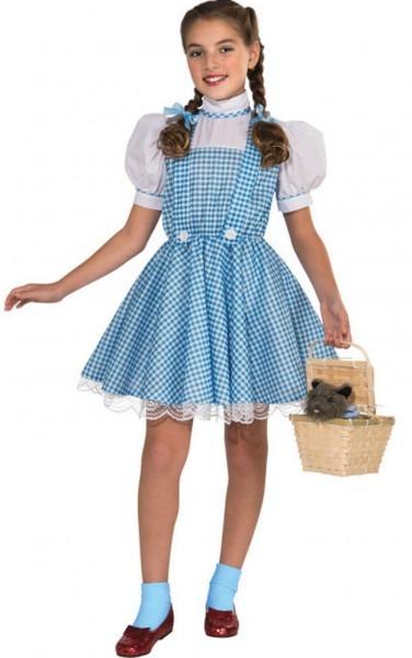 Girl's Wizard Of Oz Deluxe Dorothy Costume