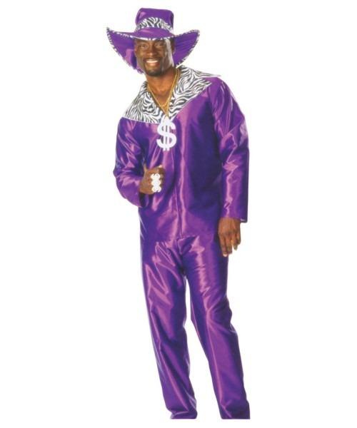 Adult Mac Daddy Pimp Halloween Costume