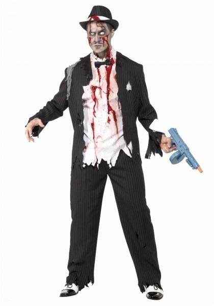 Mafia Halloween Costumes Marvelous Zombie Gangster Costume