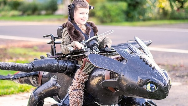 Magic Wheelchair' Creates Killer Halloween Costumes For Kids In
