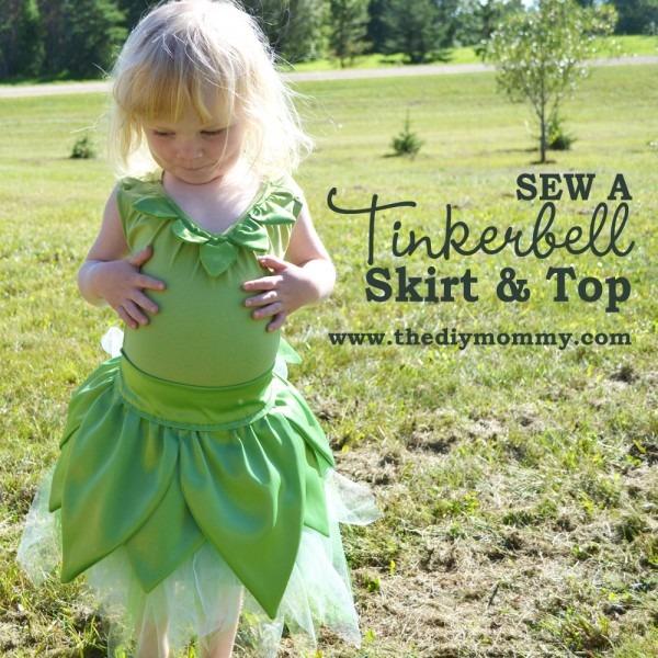 Sew A Tinkerbell Skirt & Top