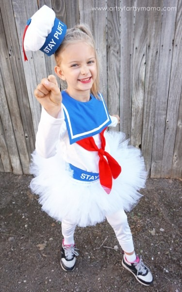 Diy Girly Marshmallow Man Costume