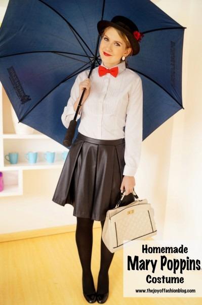 The Joy Of Fashion  {halloween}  Homemade Mary Poppins Costume