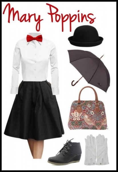 Life With 4 Boys  Adult Mary Poppins  Diy Halloween Costume