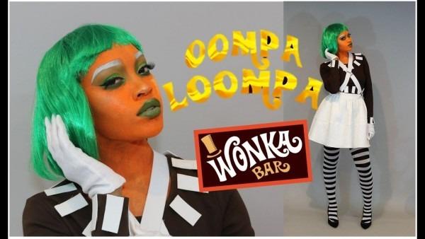 Diy Oompa Loompa Costume & Full Glam Makeup!