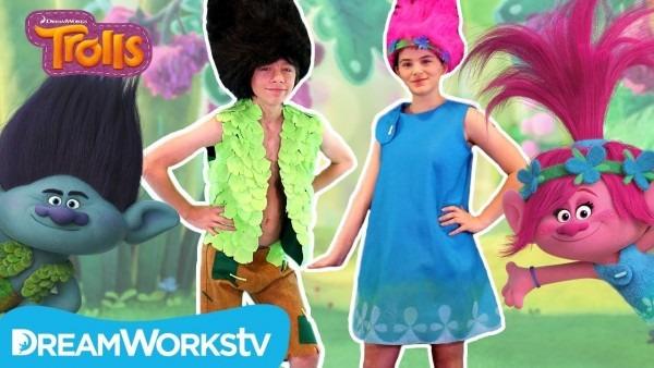 Diy Trolls Poppy And Branch Costume With Kittiesmama