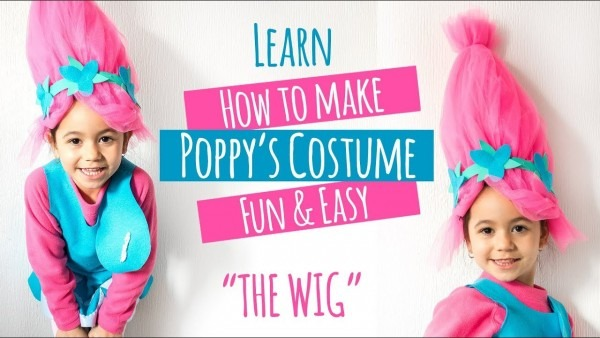 Diy Trolls Poppy Costume The Wig