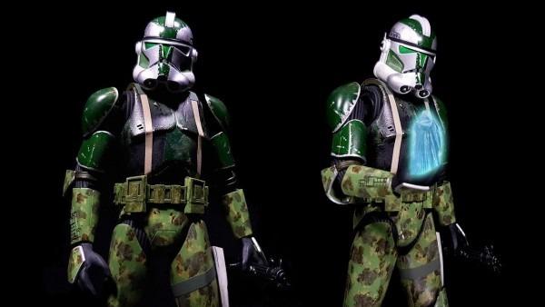 Building Bandai's 1 12 Star Wars Commander Gree (custom)