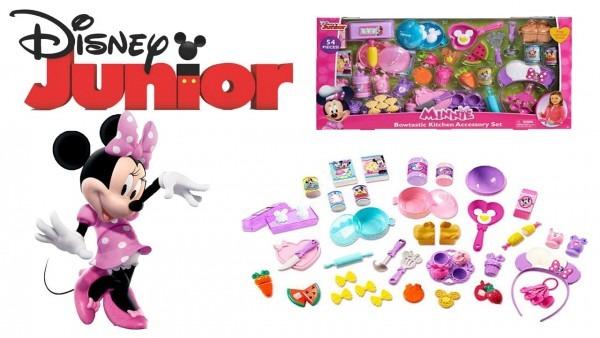 Disney Junior Minnie Mouse Bowtastic Kitchen Accessory Set, 54