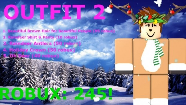 5 Awesome Roblox Christmas Outfits Best Party Supply