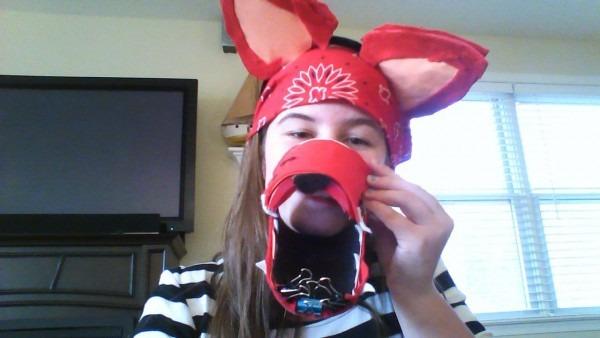 Handmade Costume Of Foxy The Pirate