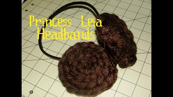How To Make Princess Leia Headbands Star Wars