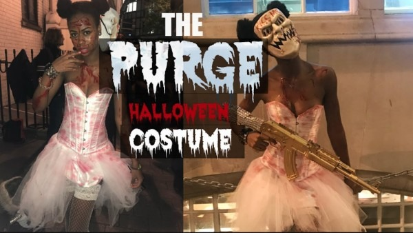 The Purge Candy Girl Freakbride Halloween Costume