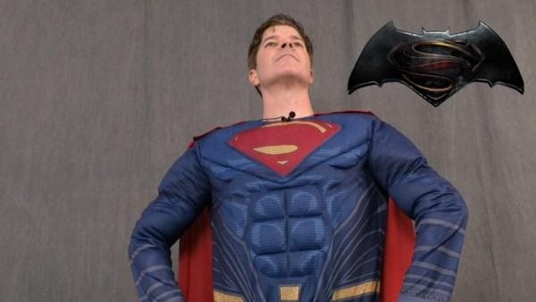Batman V Superman Superman Adult Costume From Rubies Costumes