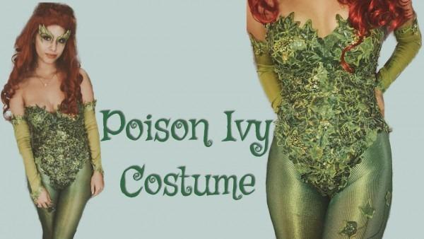 Poison Ivy Costume Uma Thurman Inspired
