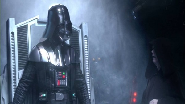 Star Wars Episode Iii Darth Vader Unleashes His Anger