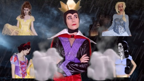 The Evil Queen And Her Dead Disney Princesses