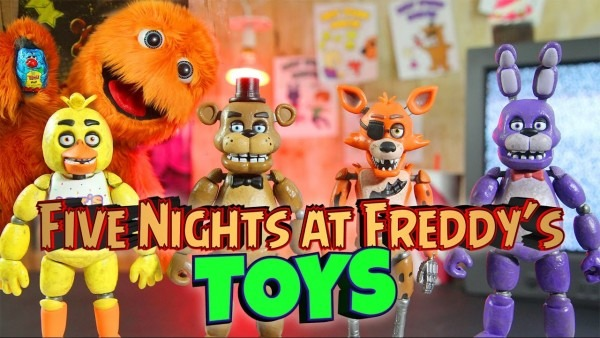 Complete Set Of Five Nights At Freddy's 2 3 4 Game Toys Sister