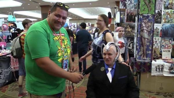 Professor X Cosplay At Animefest 2016