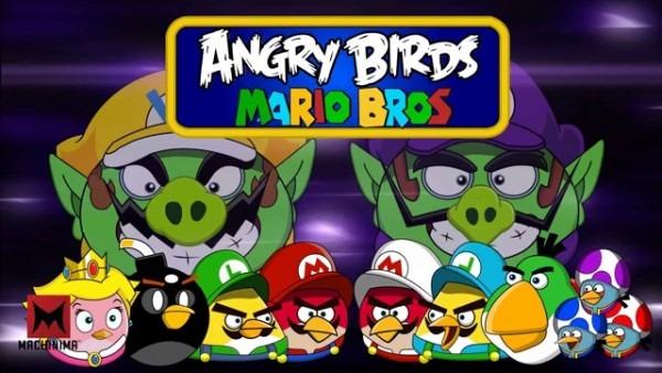 Angry Birds Version Mario Bros