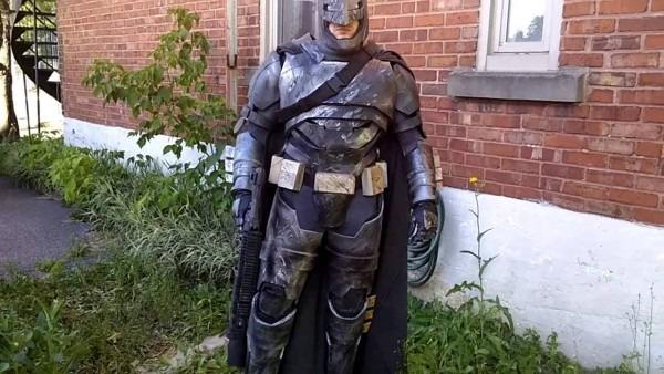 Batman Vs Superman Armor Mech Costume Batsuit Costume Batffleck