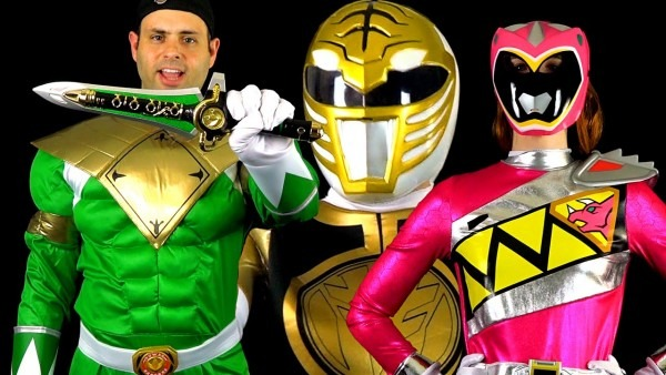 Power Rangers Halloween Costumes & Props! (mmpr & Dino Charge