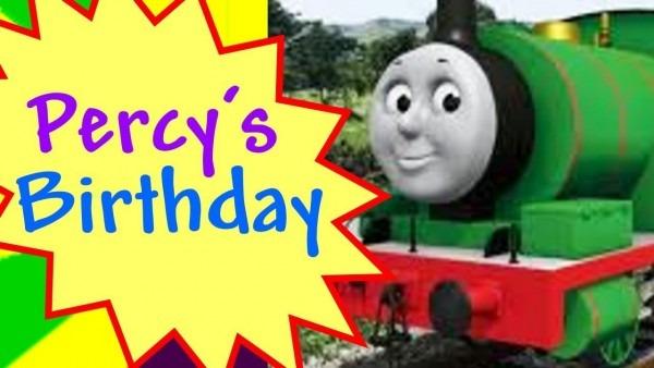 Thomas The Train Percy's Birthday