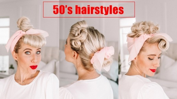 Four 50's Hairstyles