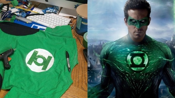 Make Your Own Green Lantern Costume! (diy)