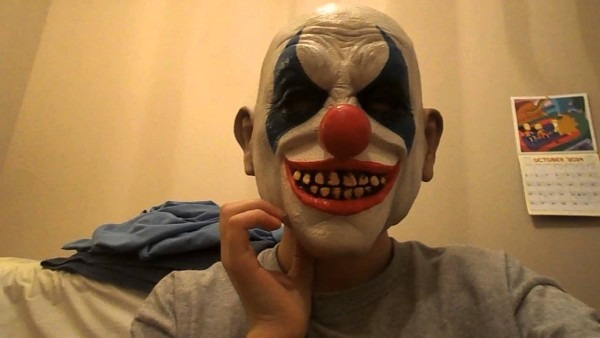 Mask Reviews Clown Mask From Party City And Frankinstein Mask