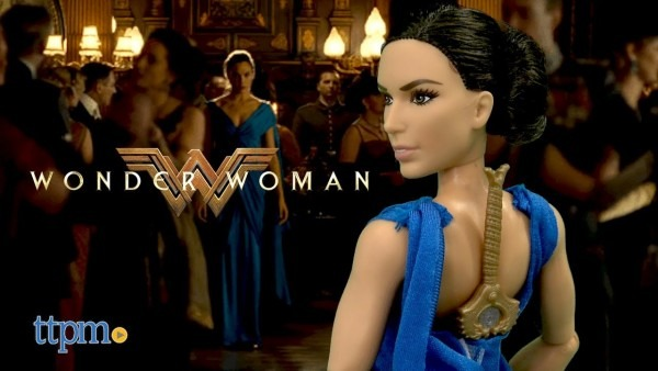 Wonder Woman Diana Prince And Hidden Sword Doll From Mattel