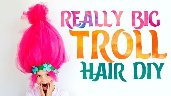 How To Make A Troll Wig (easy)