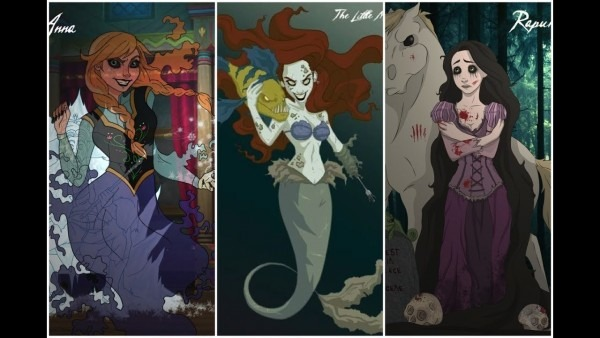 If Disney Princesses Were Evil
