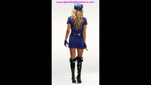 You're Busted Police Officer Costume