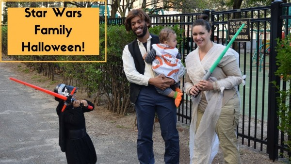 Star Wars Family Halloween Costumes! 2017