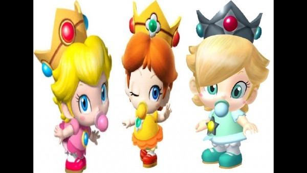 Baby Peach,daisy,rosalina,aditional Informaton  New Textures Mario