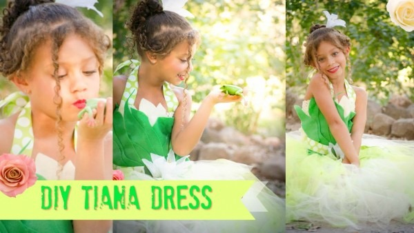 Diy Princesstiana Dress Tutu No Sew Costume