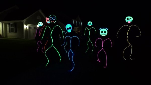 Glowcity's Amazing Light Up Stick Figure Costumes
